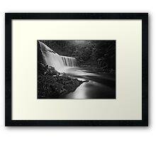 Dean Falls Framed Print