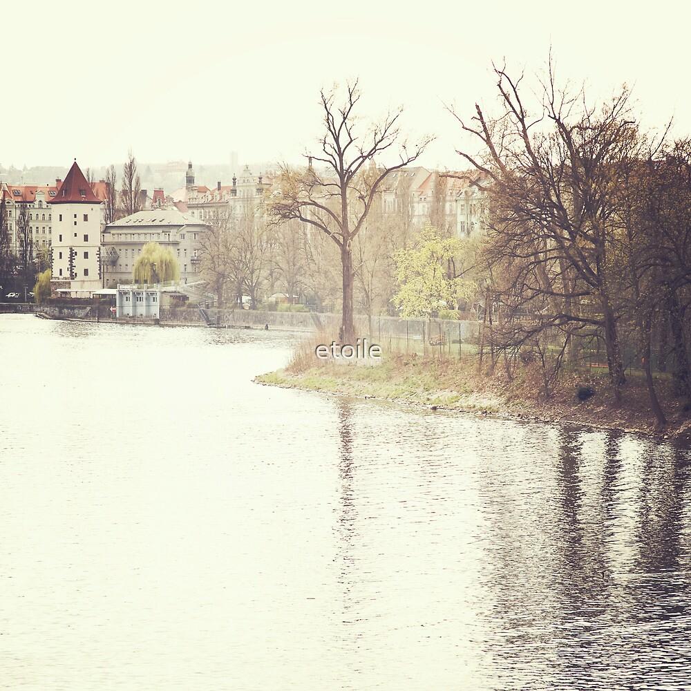 riverside, prague by etoile