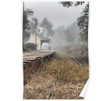 Kandos Railway Station NSW Australia Poster
