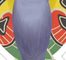 mothman sticker Sticker