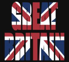 Great Britain and Union Jack Baby Tee