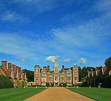 Blue Skies Over Blickling by Beverley Barrett