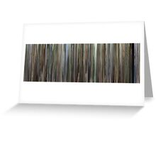 Moviebarcode: The Son's Room (2001) Greeting Card