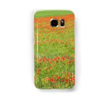 A Field of Poppies Samsung Galaxy Case/Skin
