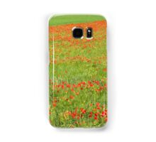 A Field of Poppies Samsung Galaxy Case/Skin