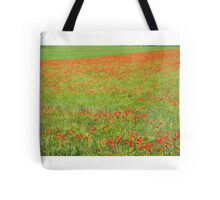 A Field of Poppies Tote Bag