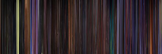 Moviebarcode: The Nightmare Before Christmas (1993) by moviebarcode
