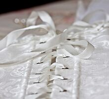A Brides Corset  by Isabel J Coote Photography