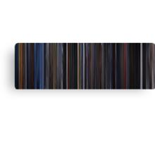 Moviebarcode: X-Men (2000) Canvas Print