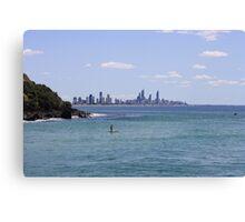 The Gold Coast Canvas Print
