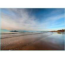 Still water over Dunk Island, Mission Beach FNQ Photographic Print