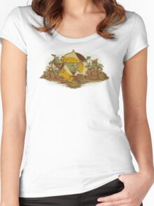 Keep Hyrule Green Women's Fitted Scoop T-Shirt