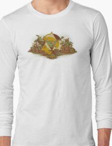 Keep Hyrule Green Long Sleeve T-Shirt