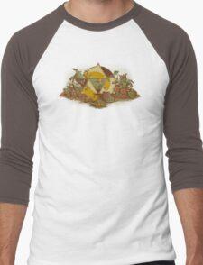 Keep Hyrule Green Men's Baseball ¾ T-Shirt