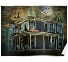 Batty Bates Motel Poster