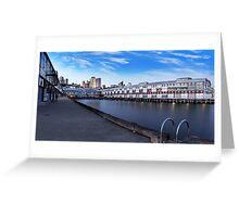 Pier II Greeting Card