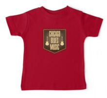 Chicago Blues Music Baby Tee