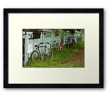 Sales are a Little Slow at the Moment Framed Print
