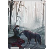 The Queen and the Wolf (Once Upon a Time) iPad Case/Skin