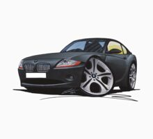 BMW Z4 Coupe Grey Kids Tee