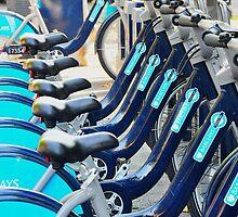 Boris Bikes, London by Kuma55
