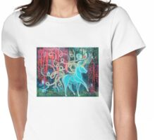 Embrace the Mystical Womens Fitted T-Shirt