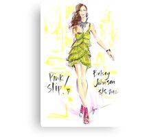 Pink Slip! Canvas Print