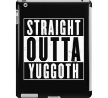 Straight Outta Yuggoth iPad Case/Skin
