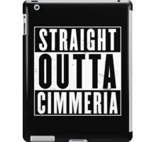 Straight Outta Cimmeria iPad Case/Skin