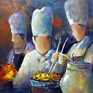 What's cooking ? by Ivana Pinaffo