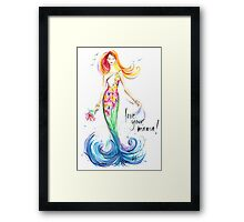 Love Your Mama! Framed Print