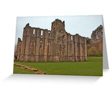 The Ruins of Fountains Abbey Greeting Card