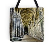 At the side of the Nave  - Kirkstall Abbey Tote Bag