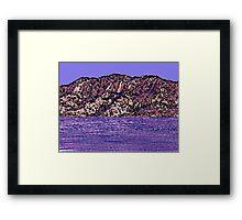 Inland Sea Framed Print