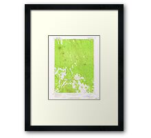 USGS Topo Map Oregon Calimus Butte 282295 1956 62500 Framed Print