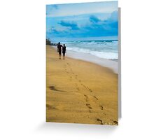 Walking with you  Greeting Card