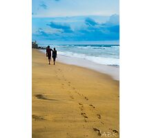 Walking with you  Photographic Print