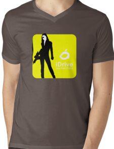 iDrive (Yellow) Mens V-Neck T-Shirt