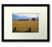 eagle cap landscape Framed Print