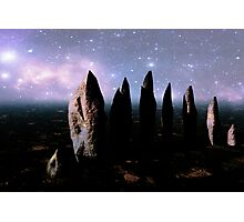 Mysterious Menhirs Photographic Print