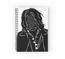 Heathcliff -  Wuthering Heights Spiral Notebook