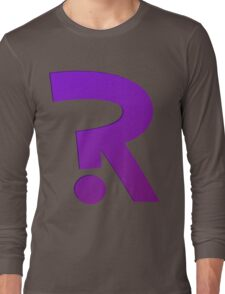 ?R - Riddler Logo Long Sleeve T-Shirt