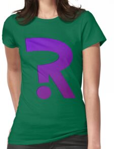 ?R - Riddler Logo Womens Fitted T-Shirt