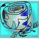 Radial Rose by IrisGelbart