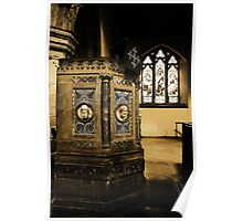 Pulpit, St John The Baptist, Penshurst Poster