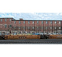 Montreal - Train Graffiti Photographic Print