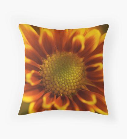 A Bloom Up Close Throw Pillow