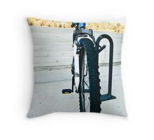 Abandoned Bike 4 Throw Pillow