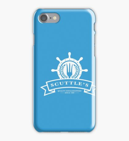 Scuttle's Quality Dinglehoppers iPhone Case/Skin
