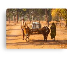 Bandhavgarh Travellers Canvas Print